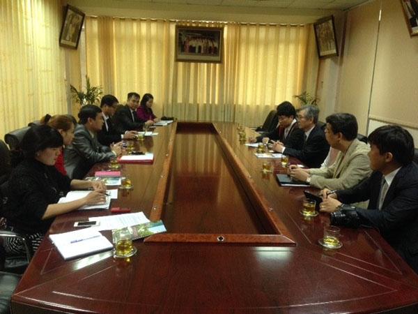 Hợp tác đào tạo giữa Trường Đại học Công nghiệp Vinh với Trường Đại học Kwangshin (Hàn Quốc).