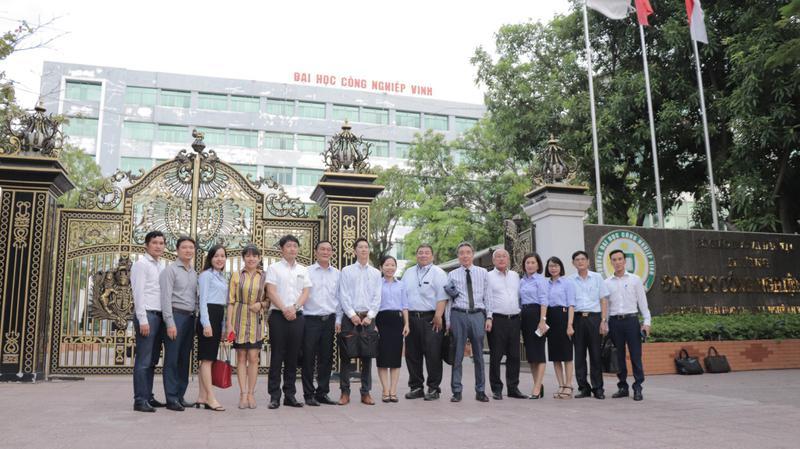 Trường ĐH Công nghiệp Vinh hợp tác với các công ty xây dựng lớn của Nhật Bản