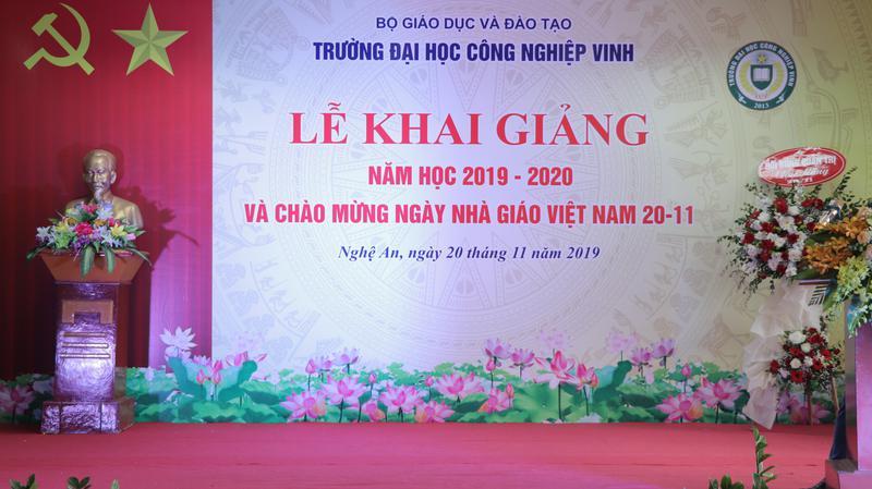 Lễ khai giảng năm học 2019 – 2020 và Chào mừng ngày Nhà giáo Việt Nam 20/11/2019