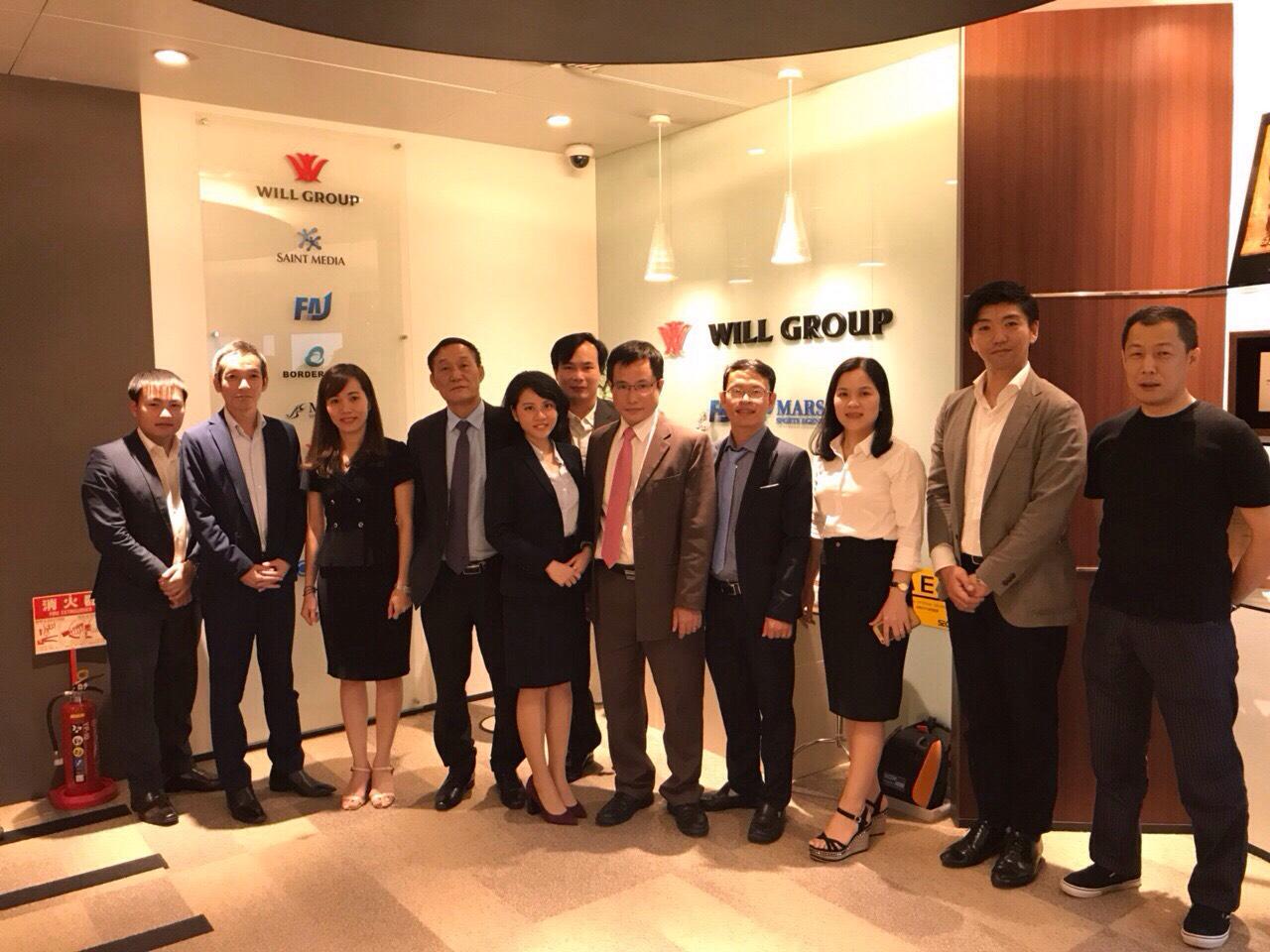 Đại học Công nghiệp Vinh hợp tác với Công ty FAJ - Will Group (Nhật Bản)