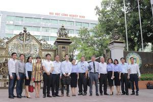 Trường ĐH Công nghiệp Vinh hợp tác với các công ty xây dựng...