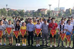 Khai mạc giải bóng đá truyền thống IUV lần thứ IV chào mừng...