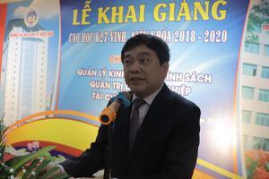 Khai giảng Cao học 27 - Vinh, niên khoá 2018 - 2020