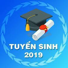 Thông báo tuyển sinh Cao đẳng năm 2019