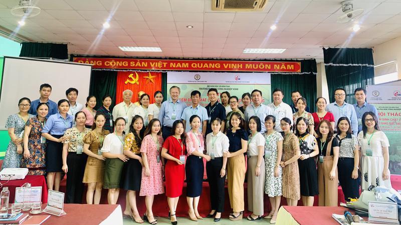 Trường Đại học Công nghiệp Vinh tổ chức Hội thảo về Kiểm định chất lượng cơ sở giáo dục đại học