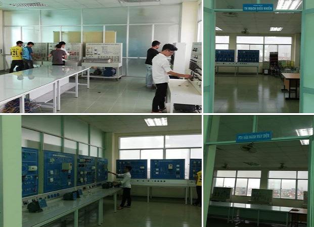 Phòng thực hành khoa công nghệ