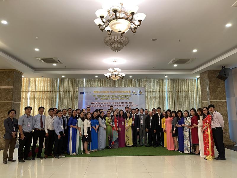 Hội nghị tổng kết dự án V2WORK và họp thường niên Mạng lưới VEES-Net lần I