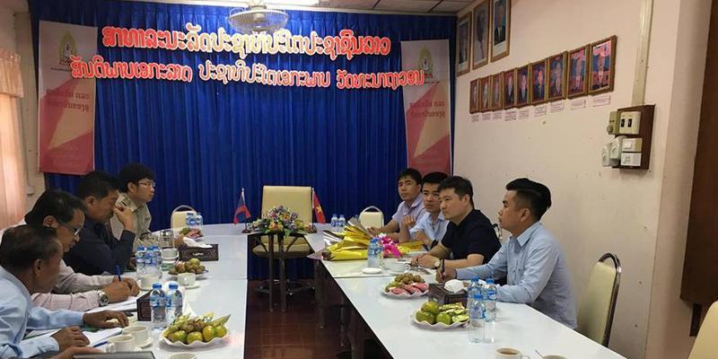 Công tác tuyển Sinh du học sinh Lào năm học 2018-2019